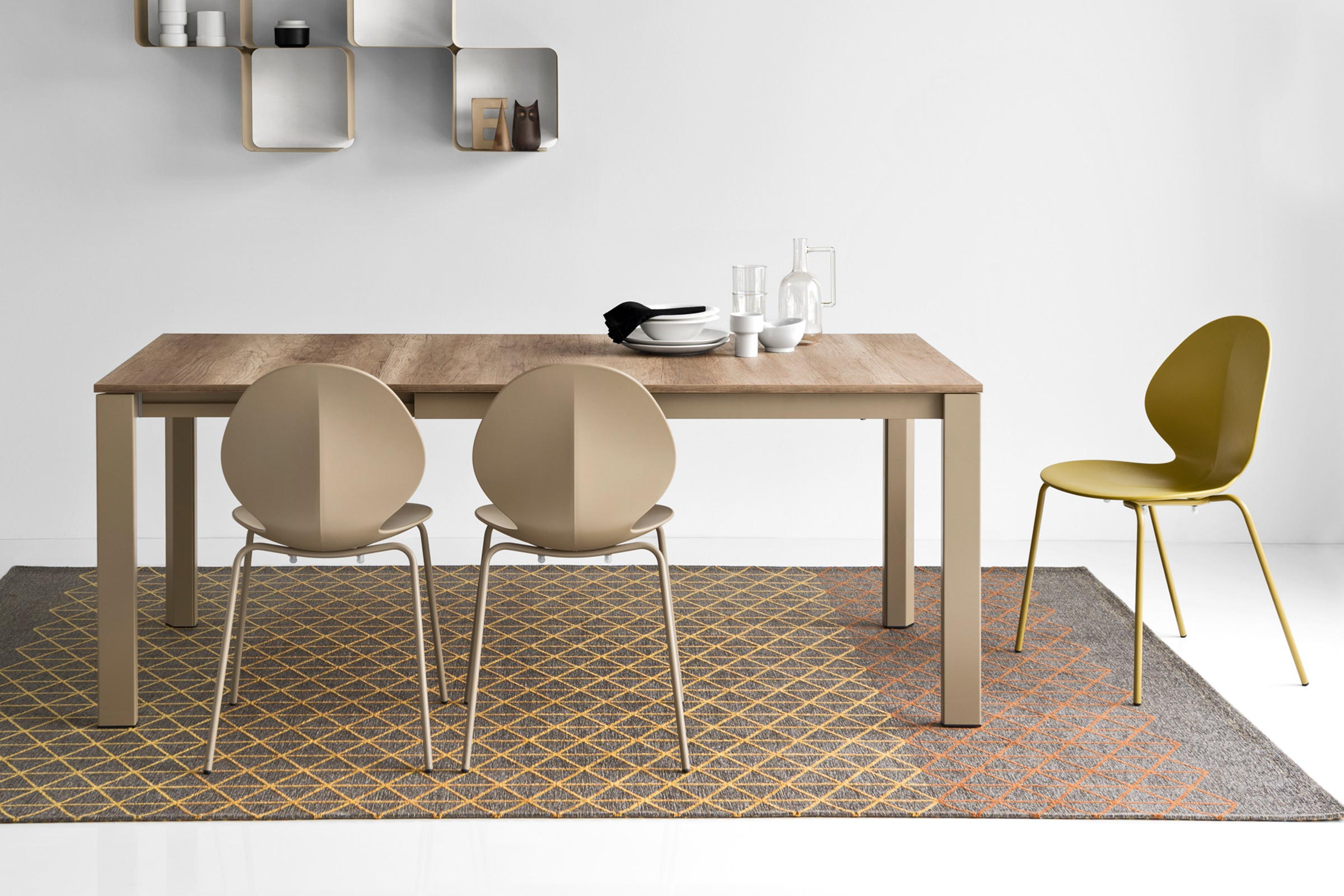 Duca Modern Extendable Table Calligaris Los Angeles Store