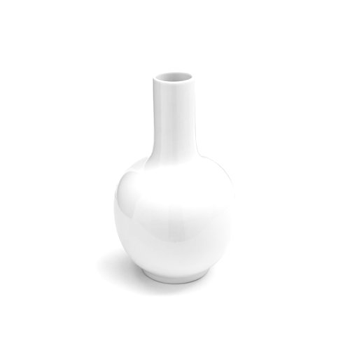 CS7117 EVAN Vase M2X ceramic GLOSSY WHITE