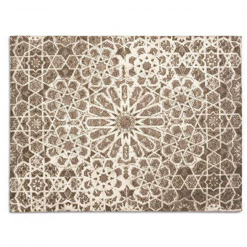 ARABIA Rug chenille/cotton ECRU