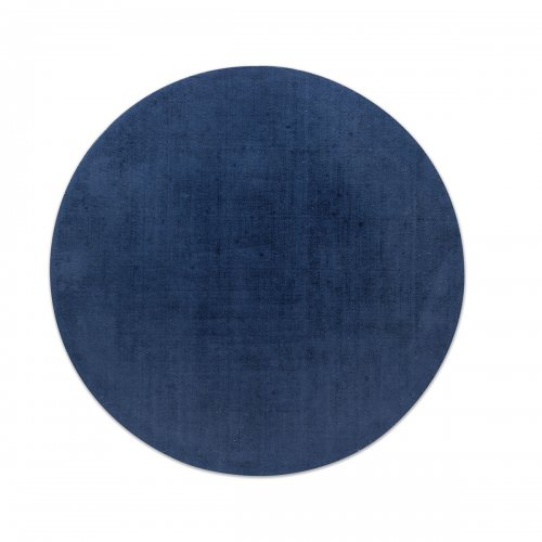 MEDLEY Rug Microfibre, cotton base COBALT BLUE