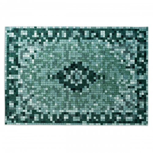 PIXI Rug chenille/cotton VARIOUS SHADES OF GREEN