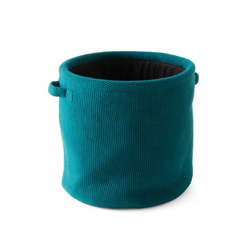 JAR Storage box cotton PETROL BLUE