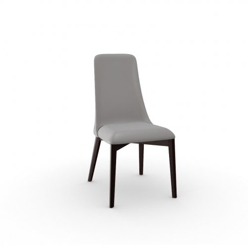 ETOILE Frame P128 bch. WENGE  Seat D04 soft leather TAUPE