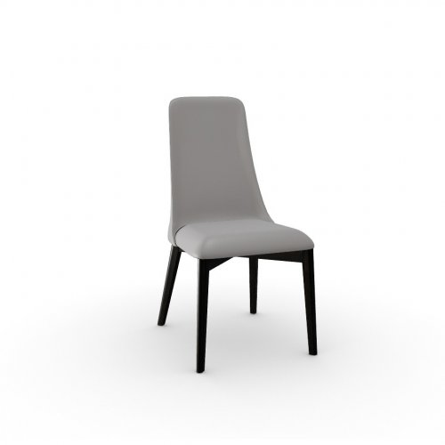 ETOILE Frame P132 bch. GRAPHITE  Seat D04 soft leather TAUPE