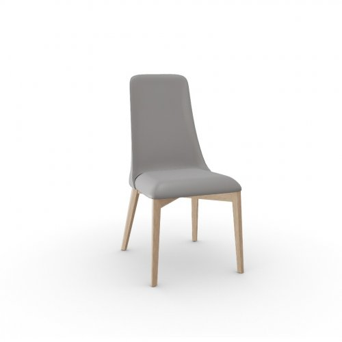 ETOILE Frame P27 ash. NATURAL  Seat D04 soft leather TAUPE