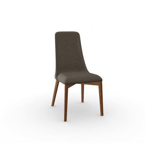 ETOILE Frame P201 bch. WALNUT  Seat A04 Denver TAUPE