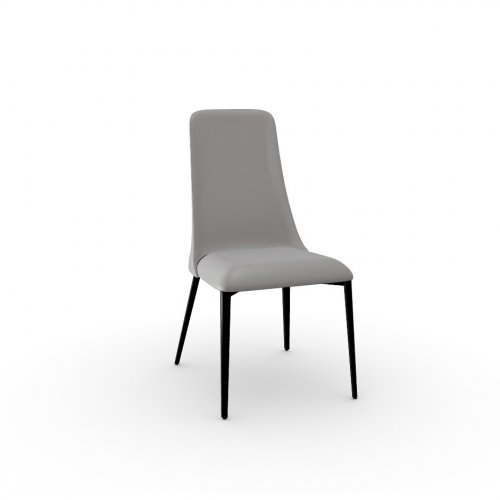 ETOILE Frame P1L met. BLACK NICKEL  Seat D04 soft leather TAUPE