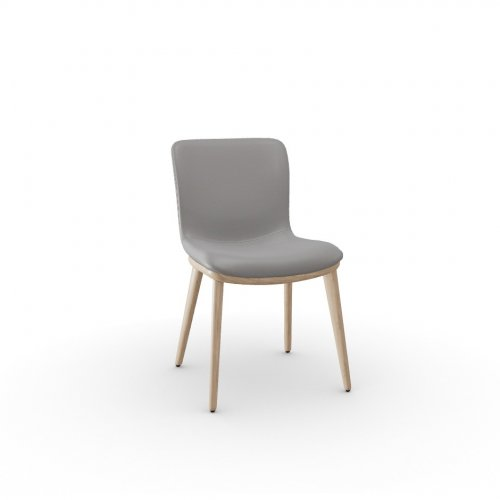 ANNIE Frame P27 ash. NATURAL  Seat D04 soft leather TAUPE