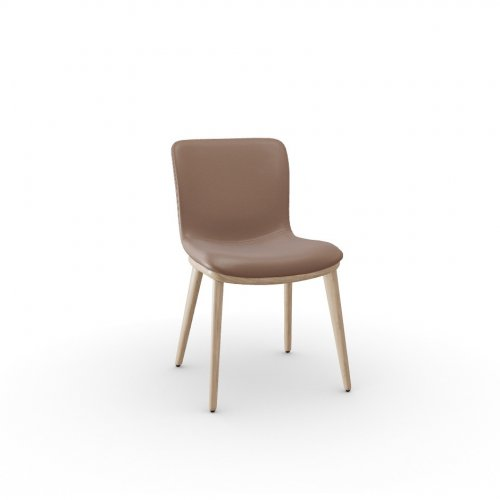 ANNIE Frame P27 ash. NATURAL  Seat L01 soft leather ANTELOPE BROWN