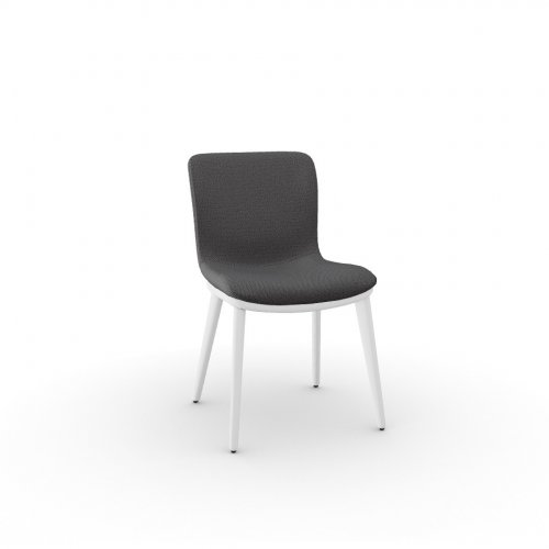 ANNIE Frame P507 ash. BRUSHED OPTIC WHITE  Seat SQ1 Malmo ANTHRACITE GREY
