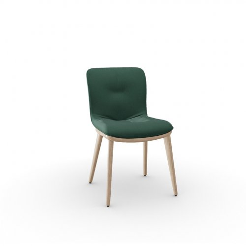 ANNIE SOFT Frame P27 ash. NATURAL  Seat S0H Venice FOREST GREEN
