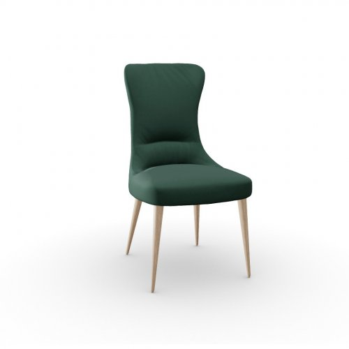 ROSEMARY Frame P27 ash. NATURAL  Seat S0H Venice FOREST GREEN