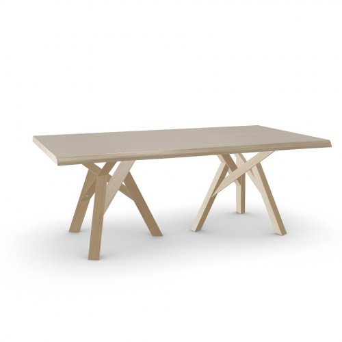 JUNGLE Top P19W oak ven. NATURAL OAK  Frame P19W ash. NATURAL OAK  Legs P19W ash. NATURAL OAK