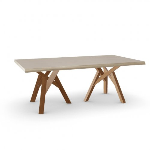 JUNGLE Top P19W oak ven. NATURAL OAK  Frame P201 ash. WALNUT  Legs P201 ash. WALNUT