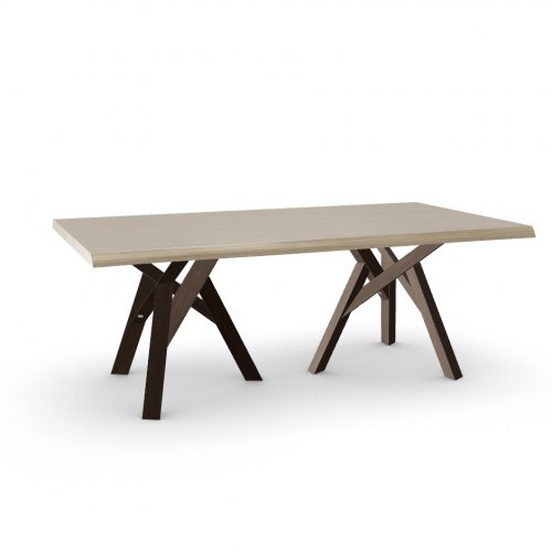 JUNGLE Top P19W oak ven. NATURAL OAK  Frame P23W ash. DARK OAK  Legs P23W ash. DARK OAK