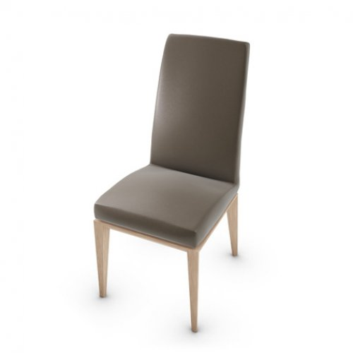CS1294-LH BESS Frame P27 ash. NATURAL Seat D04 soft leather TAUPE