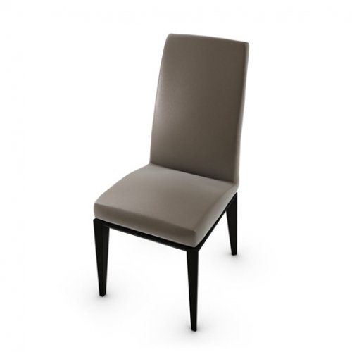CS1294-LH BESS Frame P132 bch. GRAPHITE Seat D04 soft leather TAUPE