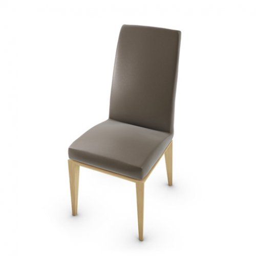 CS1294-LH BESS Frame P19W ash. NATURAL OAK Seat D04 soft leather TAUPE