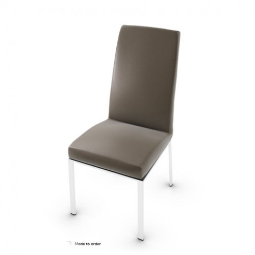 CS1367-LH BESS Frame P77 met. CHROMED Seat D04 soft leather TAUPE