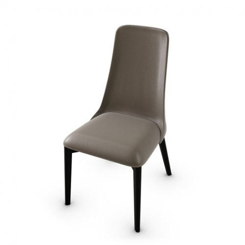 CS1423-LH ETOILE Frame P132 bch. GRAPHITE Seat D04 soft leather TAUPE