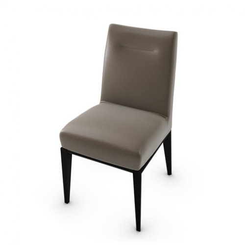 CS1490-LH TOSCA Frame P132 bch. GRAPHITE Seat D04 soft leather TAUPE
