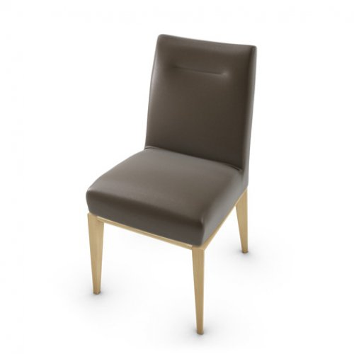 CS1490-LH TOSCA Frame P19W ash. NATURAL OAK Seat 470 soft leather COFFEE