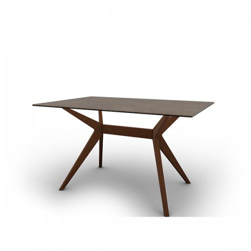 CS4105-FR 130 KENT Legs P201 ash. WALNUT Frame P201 ash. WALNUT Top P166 ceramic (g) NOUGAT