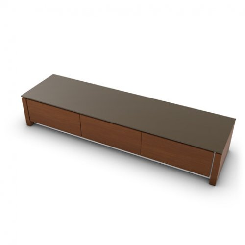 CS6029-3R MAG Internal frame P262 mel. WHITE Door P201 wlnt ven. WALNUT Top GTA temp.glass FROSTED TAUPE