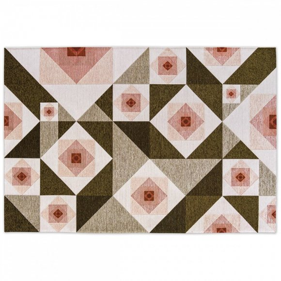 Rose: Abstract Floral Design Rug
